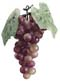 "7"" Artificial Grape Cluster - Rose/Green"