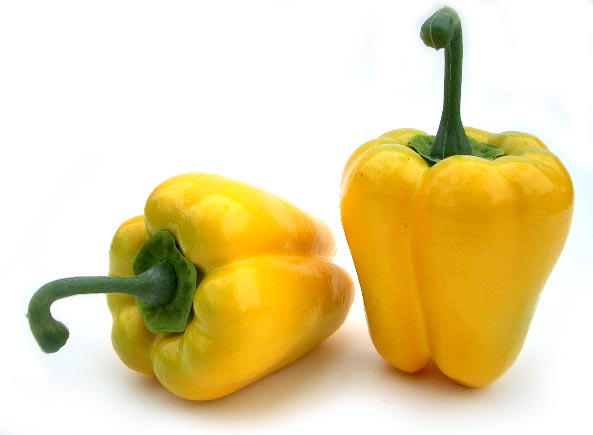 Small Yellow Bell Pepper