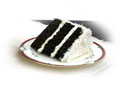 Chocolate Coconut Cake Slice.
