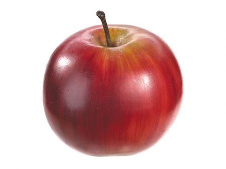 "3"" Weighted Red Artificial Apple"