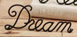Mini Metal Word Art - Dream